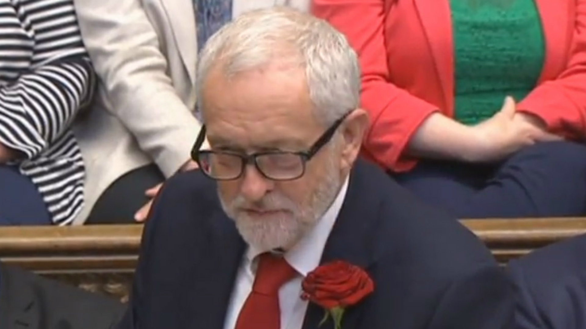 Triumphant Corbyn declares Labour 'a government in waiting