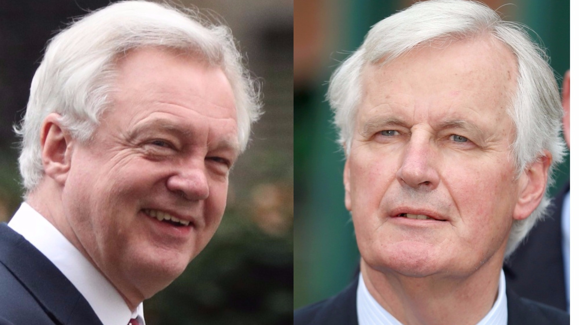 Barnier and Davis agree on Brexit talks' priorities and timetable
