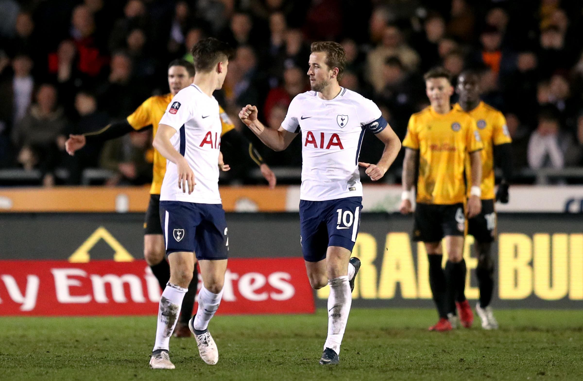 Spurs end Newport's Cup run at the second attempt