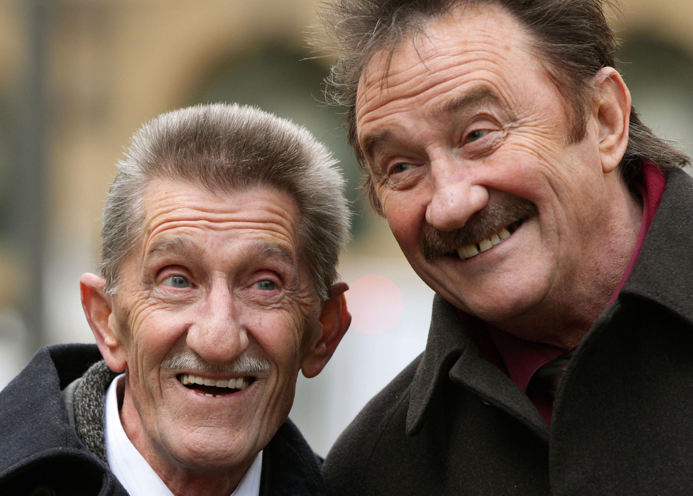 Barry Chuckle, one half of the Chuckle Brothers, has died
